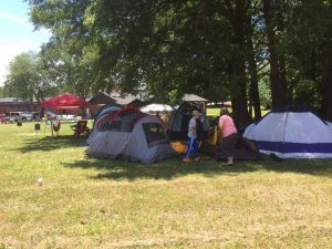 Tents.- Epworth UMC