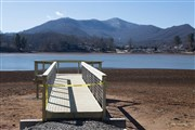 New Meditation Pier under construction at Lake Junaluska