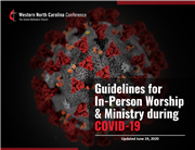 Updated Guidelines for In-Person Worship & Ministry During COVID-19