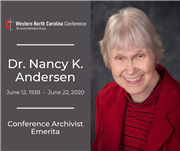 In Memoriam: Dr. Nancy K. Andersen