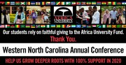 Thank You, WNCC! From Africa University