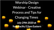 Free worship planning webinar from Marcia McFee
