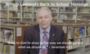 A Message of Encouragement from Bishop Leeland