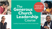 The Generous Church Leadership Course
