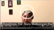 Project AGAPE Update from Nara Melkonyan, Director