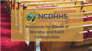 NCDHHS shares COVID-19 resources for places of worship and faith communities