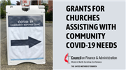Council on Finance & Administration to offer grants for churches serving as COVID-19 community stations