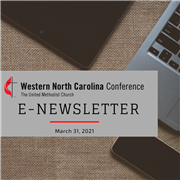 The Latest Edition of E-News - Second Sunday of Easter Worship Video Available, Holy Week Meditation, Technology Grants, and more
