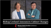 Bishop Leeland Announces Cabinet Changes